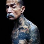 фото - крутые тату на шее - пример 6292 tatufoto.ru