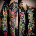 фото - крутые тату рукава - пример 22331 tatufoto.ru