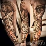 фото - крутые тату рукава - пример 2311 tatufoto.ru