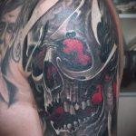 фото - крутые тату черепа - пример 2391 tatufoto.ru