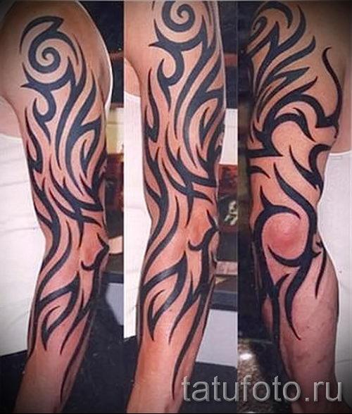 Значение тату трайбл - Татуировки и их значение