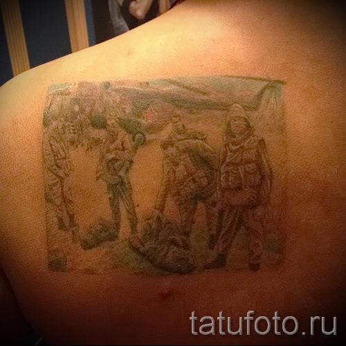 фото тат вдв - вариант фото тату зпецназ вдв - фото 19374 tatufoto.ru