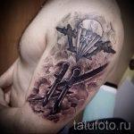 фото тат вдв - вариант фото тату зпецназ вдв - фото 44391 tatufoto.ru