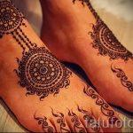 хной на ноге рисунки - варианты временной тату хной от 05082016 11292 tatufoto.ru