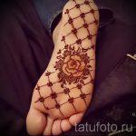 хной на ноге рисунки - варианты временной тату хной от 05082016 1282 tatufoto.ru