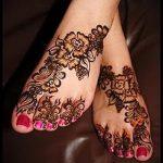 хной на ноге рисунки - варианты временной тату хной от 05082016 5286 tatufoto.ru