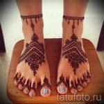 хной на ноге рисунки - варианты временной тату хной от 05082016 6287 tatufoto.ru