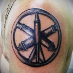 Airborne Special Forces tattoo - Photo example of the tattoo 3015 tatufoto.ru