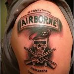 Airborne Tattoo - Photo exemple du tatouage 1020 tatufoto.ru