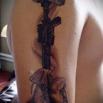 Airborne tattoo Special Forces - Photo exemplaire du tatouage 2025 tatufoto.ru