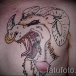 Aries zodiac sign tattoos - photos of the finished tattoo on 02082016 2026 tatufoto.ru