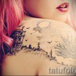 Bild - weibliche Tätowierung kühlsten - Beispiel 1003 tatufoto.ru