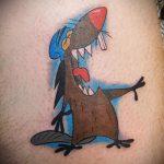 Foto - Biber Brüder Tattoo - ein Beispiel 1005 tatufoto.ru