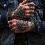 Foto - cool Tätowierung auf der Hand für Männer - ein Beispiel 1013 tatufoto.ru