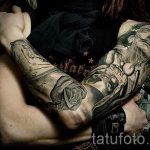 Foto - cool Tattoo Ärmel - ein Beispiel 2019 tatufoto.ru
