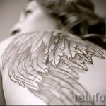Foto - cool Tattoo auf dem Rücken - ein Beispiel 1020 tatufoto.ru