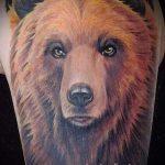 Foto - cooles Tattoo Bär - ein Beispiel 1033 tatufoto.ru