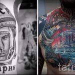 Foto - slawische cooles Tattoo - ein Beispiel 1040 tatufoto.ru