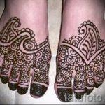 Henna auf den Fuß Figuren - Variationen über eine temporäre Henna-Tattoo 05082016 1014 tatufoto.ru