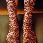 Henna auf den Fuß Figuren - Variationen über eine temporäre Henna-Tattoo 05082016 2015 tatufoto.ru