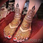 Henna auf den Fuß Figuren - Variationen über eine temporäre Henna-Tattoo 05082016 3016 tatufoto.ru