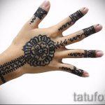 Mehendi auf dem Arm ein Kind - eine temporäre Henna-Tattoo Foto 1021 tatufoto.ru