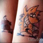 Photo - Angry Beavers tattoo - an example 1042 tatufoto.ru