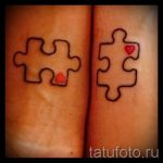 Photo - tattoo on the twins for good luck - an option 1030 tatufoto.ru