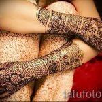 Photos mehendi sur les mains - photo temporaire tatouage au henné 2195 tatufoto.ru