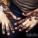 Pictures mehendi on the hands - Photo temporary henna tattoo 2197 tatufoto.ru