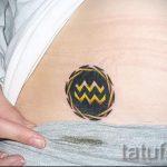 Tätowierung in Form von Wassermann - Foto - ein Beispiel für die fertigen Tätowierung 01082016 1047 tatufoto.ru