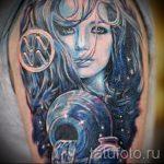 Tattoo-Wassermann Sternzeichen - Foto - ein Beispiel für die fertigen Tätowierung 01082016 1051 tatufoto.ru