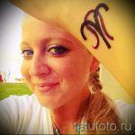 Widder Tattoo auf ihrem Handgelenk - ein Foto des fertigen Tätowierung 02082016 1052 tatufoto.ru