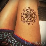 easy mehendi on her leg - options for temporary henna tattoo on 05082016 1011 tatufoto.ru