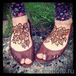 fleurs mehendi pieds - options pour tatouage au henné temporaire sur 05082016 2013 tatufoto.ru