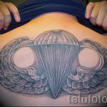 for Airborne Tattoo - Photo example of the tattoo 1031 tatufoto.ru