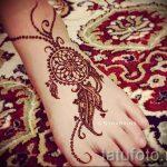 henné sur les chiffres du pied - variations sur un tatouage au henné temporaire 05082016 1025 tatufoto.ru
