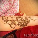 mehendi à l'intérieur du bras - photo henné tatouage temporaire 1011 tatufoto.ru