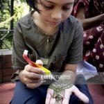 mehendi Henna auf der Hand - eine temporäre Henna-Tattoo Foto 1075 tatufoto.ru