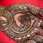 mehendi Muster auf der Hand - eine temporäre Henna-Tattoo Foto 13083 tatufoto.ru