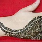 mehendi Muster auf der Hand - eine temporäre Henna-Tattoo Foto 15085 tatufoto.ru