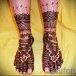 mehendi am Bein Armband - Optionen für temporäre Henna-Tattoo auf 05082016 2035 tatufoto.ru
