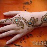 mehendi auf der Hand - eine temporäre Henna-Tattoo Foto 1022 tatufoto.ru