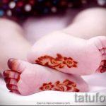 mehendi auf der Hand für Jungen - Bild temporäre Henna-Tattoo 1027 tatufoto.ru