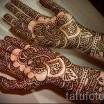 mehendi auf der Hand für die Hochzeit - Fotos temporäre Henna-Tattoo 1026 tatufoto.ru