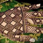 mehendi auf der Hand schwarzen Henna - eine temporäre Henna-Tattoo Foto 1033 tatufoto.ru