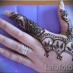 mehendi auf der linken Foto - Foto temporäre Henna-Tattoo 1040 tatufoto.ru