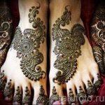 mehendi auf ihre Hand und Fuß - Optionen für temporäre Henna-Tattoo auf 05082016 2039 tatufoto.ru