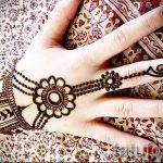mehendi auf ihrem Arm Armband - Bild temporäre Henna-Tattoo 1058 tatufoto.ru