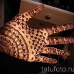 mehendi auf ihrem Arm Lichtmuster für Anfänger - Bild temporäre Henna-Tattoo 2066 tatufoto.ru